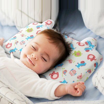 Little Tree Baby Pillow Breathable Memory Foam Prevent Flat Head Anti Roll with