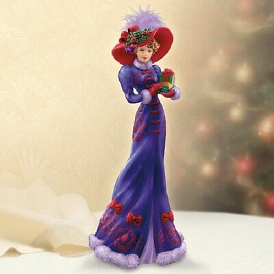 Holiday Gathering Figurine Portraits of Style Through Year Thomas Kinkade