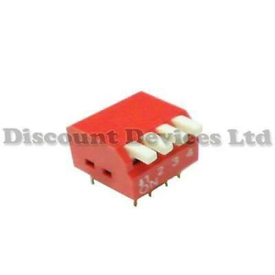 DIP-4 Switch, PCB Key Switch, Piano , 4 Circuits/Way Printed Board Switch DIL-4