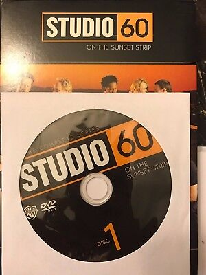 Studio 60 on the Sunset Strip - Complete Series, Disc 1 REPLACEMENT DISC