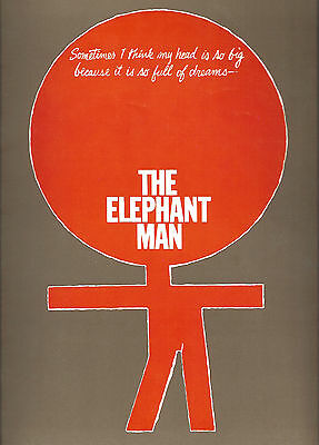 "Kevin Conway ""THE ELEPHANT MAN"" Carole Shelley / Philip Anglim 1979 Program"