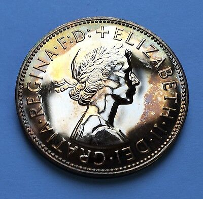 GB ELIZABETH II - PENNY - LAST YEAR MINTED 1970  ++ TONED PROOF! ++ [ton]