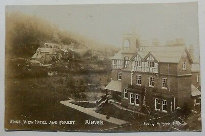 Postcard -  Kinver, Staffordshire - Edge View Hotel And Forest 1906