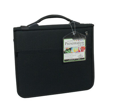 A4 Cushioned Ring Binder Artist Storage Portfolio Case & 3 Acid Free Sleeves