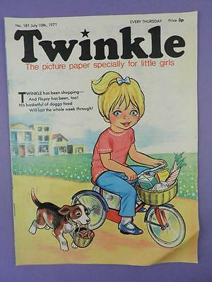 Twinkle Comic, Picture Paper For Little Girls #181 July 10th 1971