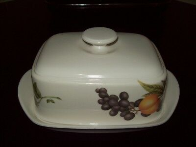 M&s Ashberry Butter Dish - Excellent Condition