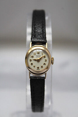 TUDOR by ROLEX - SOLID GOLD LADIES VINTAGE ROYAL WATCH - BEAUTIFUL! -NO RESERVE!