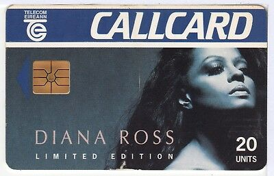 Ireland Phone Card - Diana Ross - Limited Edition - Callcard