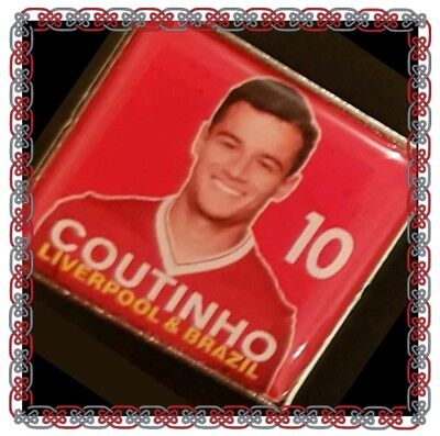 Liverpool Player Picture Badge - Coutinho No.10