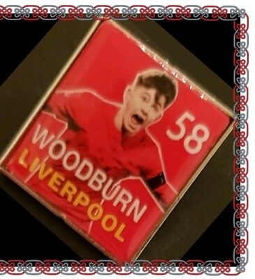 Liverpool Player Picture Badge - Woodburn No.58