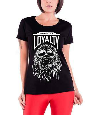 Star Wars Force Awakens Chewbacca Loyalty offiziell damen Nue Skinny Fit T Shirt