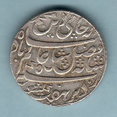 India - Bengal Presidency. Yr-19 (1792-1818) One Rupee..  Much Lustre - EF