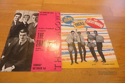 The Shadows x 2 - Great Yarmouth 1964 + Leicester 1967