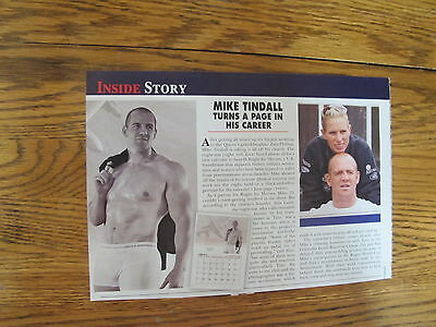 Under Armour Men Underwear Print Ad Clipping,mike Tindall