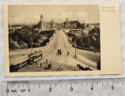 vintage postcard Luxembourg - Pont Adolphe