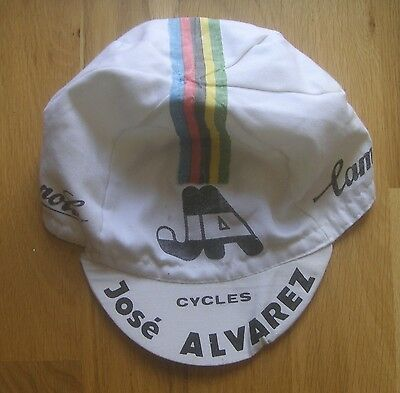 Ancienne Casquette Cycliste CAMPAGNOLO Vintage Cycling Cap Hat Jersey Shirt Tdf