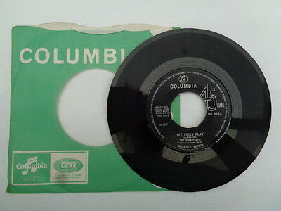 the pink floyd  single  on  columbia  records  1967 rare