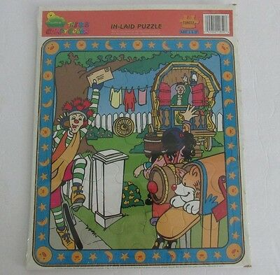 The Big Comfy Couch In-laid Puzzle 1995 New Granny Loonette Molly Large Nip Rare