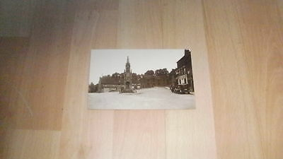 Vintage Real Photo PC Daventry, Northants? Unposted