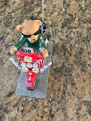 Hamilton Collection - Scooter Bears Ornament
