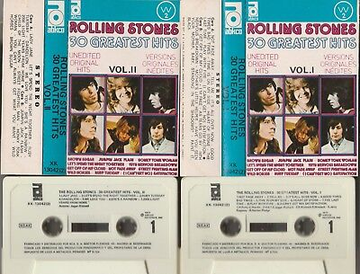ROLLING STONES 30 Greatest Hits SPAIN DOUBLE CASSETTE