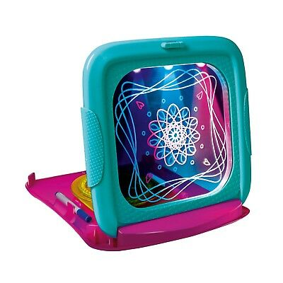 John Adams Spiralite Light Up Tablet Kids Glow Pad Draw Doodle Board Art Playset