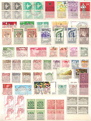 Lot timbres