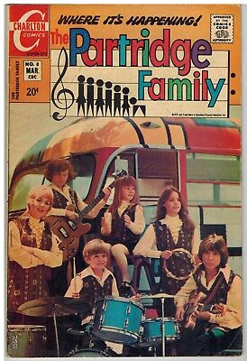 The Partridge Family (Tv) #8 1972 Charlton Bronze Age Nice!