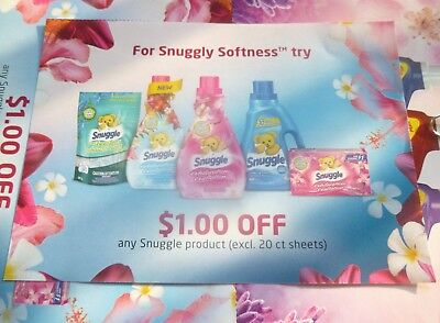 Lot Of Snuggle Product Coupons