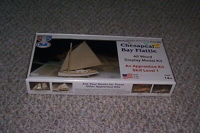 Midwest Products #965 Skill Level 1 The Chesapeake Bay Flattie Wood Boat Kit