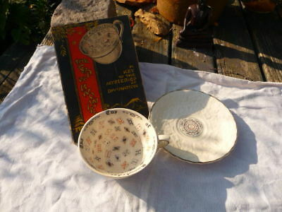 Alfred Meakin Fortune Telling Cup of Knowledge  Zodiac + Instruction Booklet