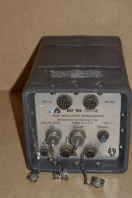Refraction Technology Ref Tek 72A-08 High Resolution Seismograph
