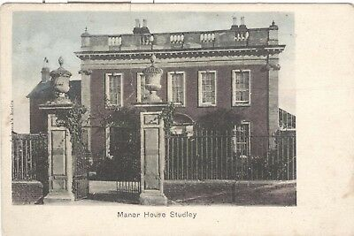 Manor House Studley nr. Redditch, Alcester