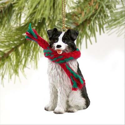 Border Collie Dog Tiny One Miniature Christmas Holiday ORNAMENT
