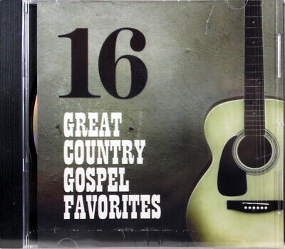 16 Great Country Gospel Favorites Brand NEW Music CD Various Artists