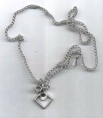 "Shiny New Pendant Necklace On Fine 18"" Neck Chain..great Gift Items Looks Great"