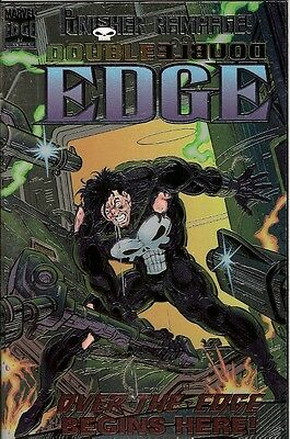 Double Edge: Alpha (Punisher) (Marvel)  1995 (Chrome Cover)