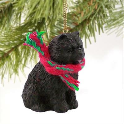 Chow Chow Black Dog Tiny One Miniature Christmas Holiday ORNAMENT