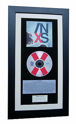 INXS X CLASSIC CD Album TOP QUALITY FRAMED+EXPRESS GLOBAL SHIP+SUICIDE BLONDE