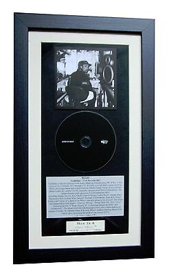WILEY Godfather CLASSIC CD Album GALLERY QUALITY FRAMED+EXPRESS GLOBAL SHIP+RINK