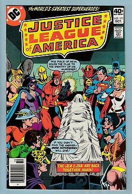 Justice League Of America # 171 Vfn (8.0) Glossy High Grade - Jsa X-Over- Cents