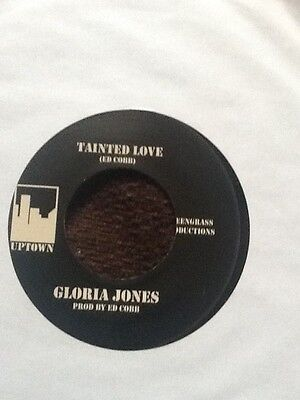 Gloria Jones. Tainted Love/ Come Go With Me.   Double A Sider