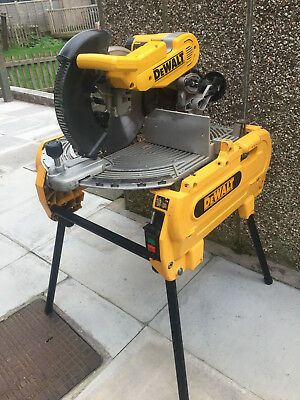DEWALT D27105-LX 305mm FLIP OVER COMBINATION MITRE / BENCH SAW 110v