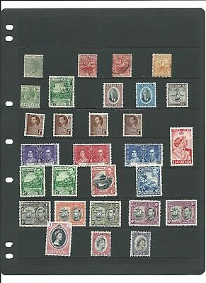 GRENADA MINT & USED STAMPS 1880s TO THE 1950s