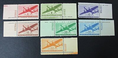 CKStamps: US Air Mail Stamps Collection Scott#C25-C31 (7) Mint NH OG P# Single