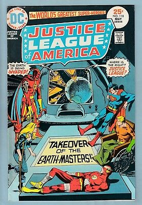 JUSTICE LEAGUE OF AMERICA # 118 FNVF (7.0) GLOSSY HIGHER GRADE CENTS- 99p START