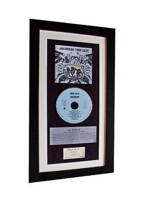 THIN LIZZY Jailbreak CLASSIC CD Album GALLERY QUALITY FRAMED+EXPRESS GLOBAL SHIP