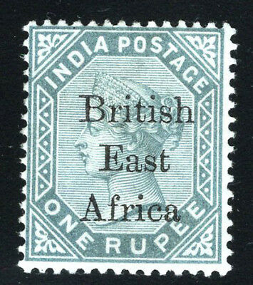 British East Africa KUT Stamps 1895 1R Slate (SG 59) Mint £100