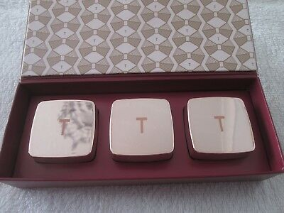 "Ted Baker Kiss ""trio Of Lip Balm"" New"