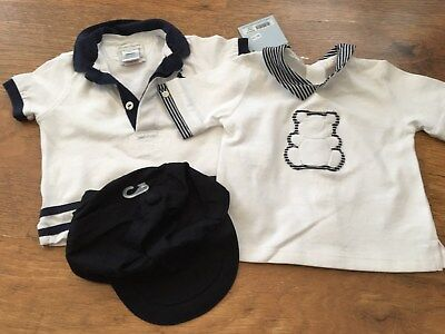 Emile Et Rose Hugo Boss Ralph Lauren Baby Boys Designer Bundle 6 Mths Tops Cap